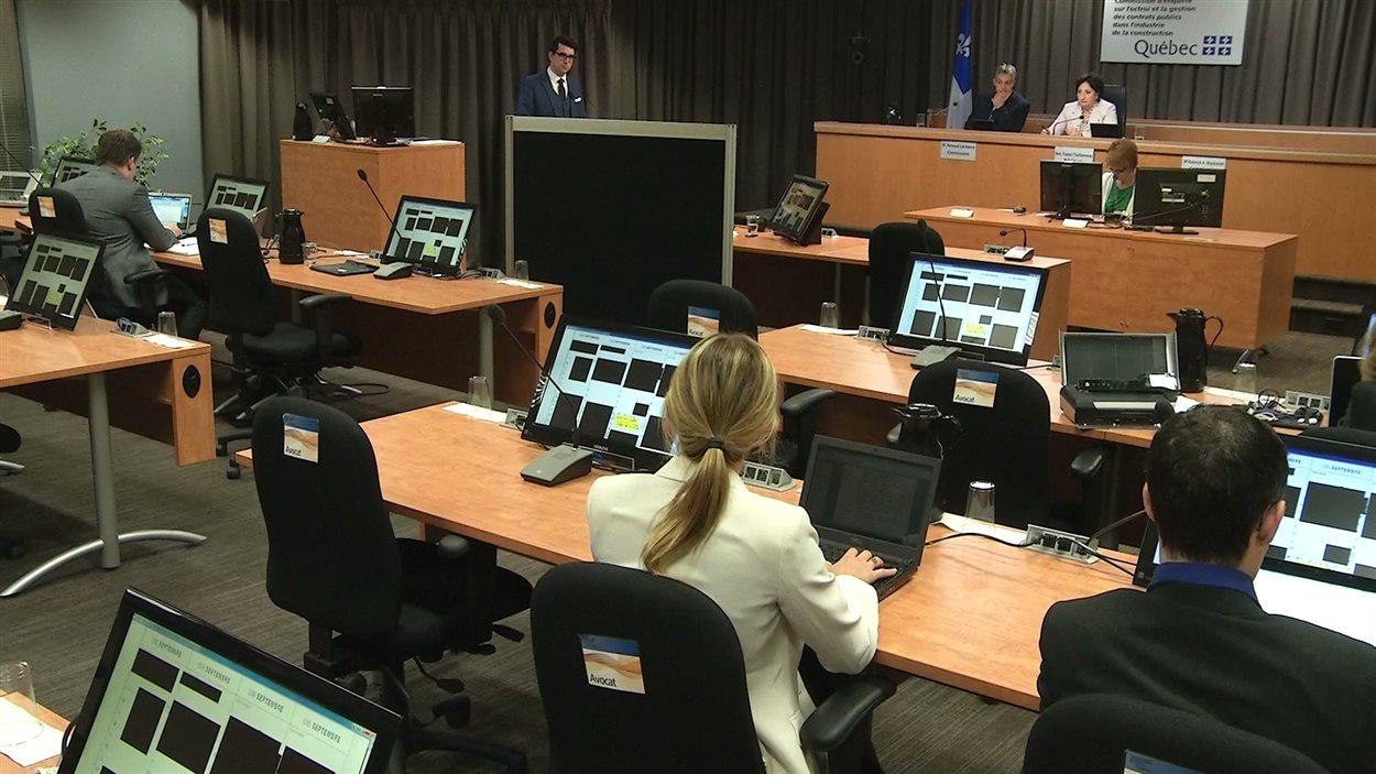 Le témoin A à la commission Charbonneau, le 13 juin