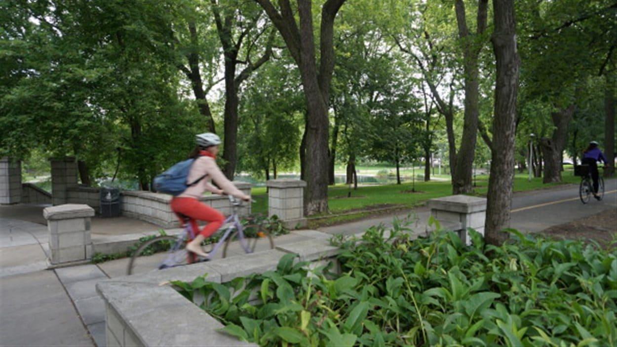 Parc Lafontaine à Montréal