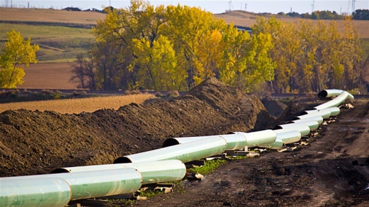 Un pipeline en construction