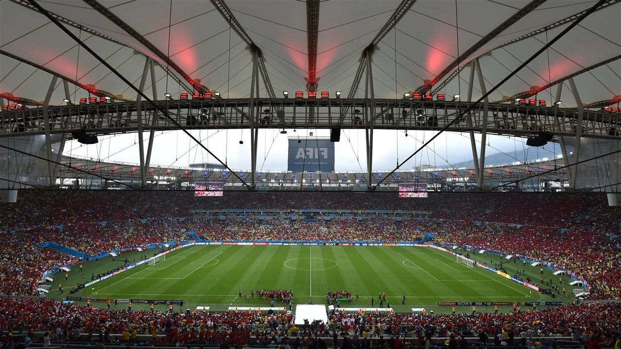 Le stade Maracana avant le match Espagne-Chili
