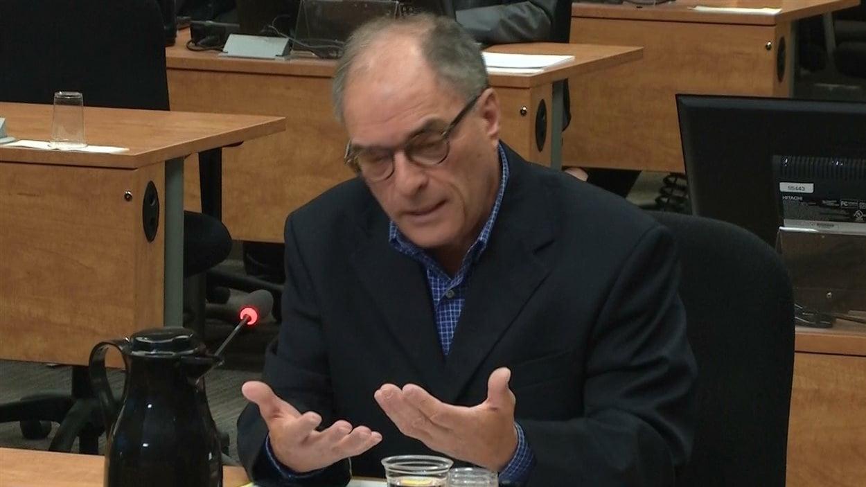 Robert Benoît, ex-président du Parti libéral du Québec
