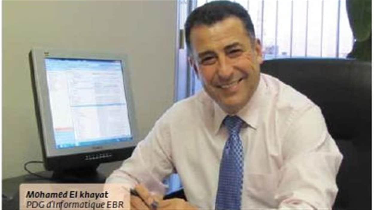 Mohamed El-Khayat, PDG d'EBR.