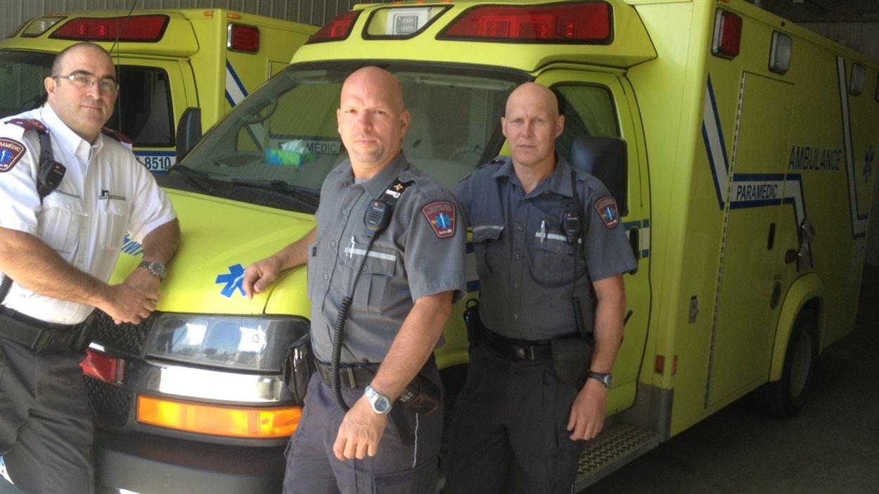 Techniciens paramédics à Ambulances Abitémis à Amos