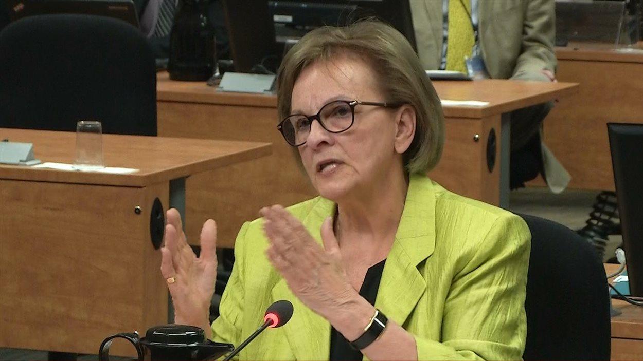 Violette Trépanier milite au Parti libéral du Québec depuis 1978.