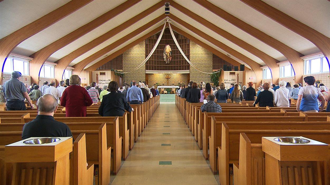 Messe à l'église Saint-Joseph