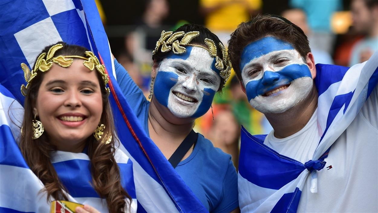Prêts à appuyer la Grèce!