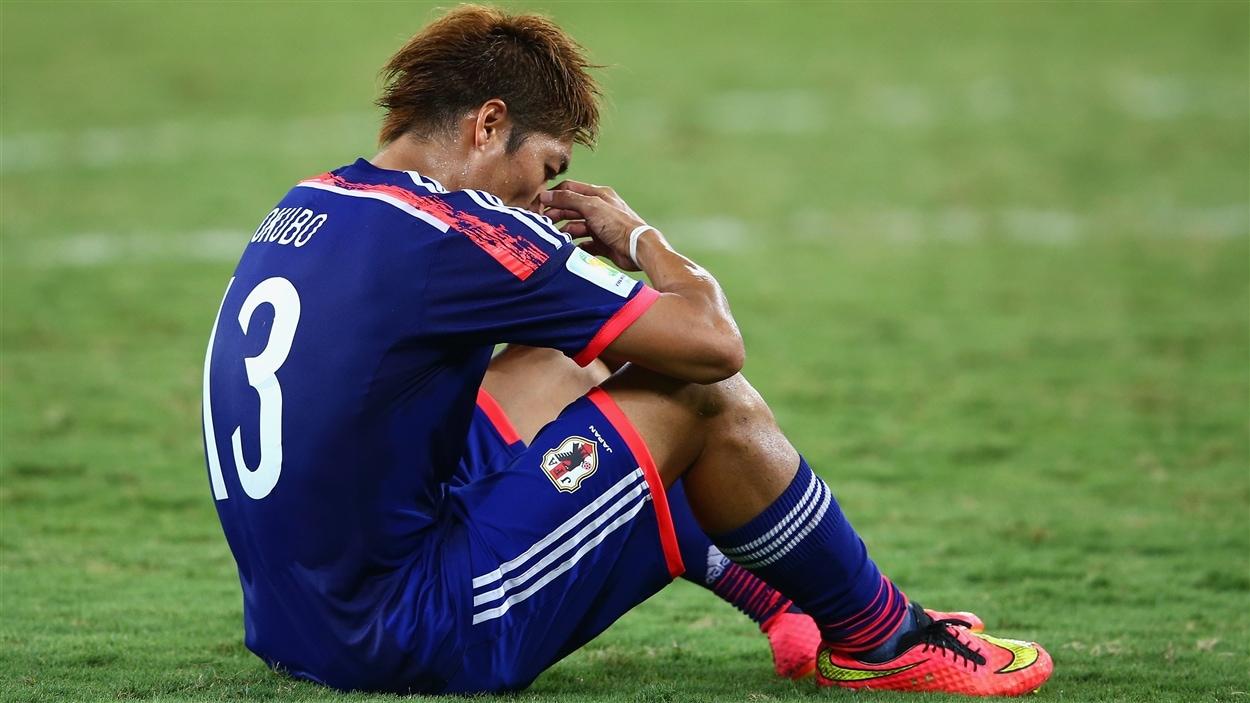 Le parcours des Japonais, et de Yoshito Okubo, prend fin au terme de la phase de groupes.