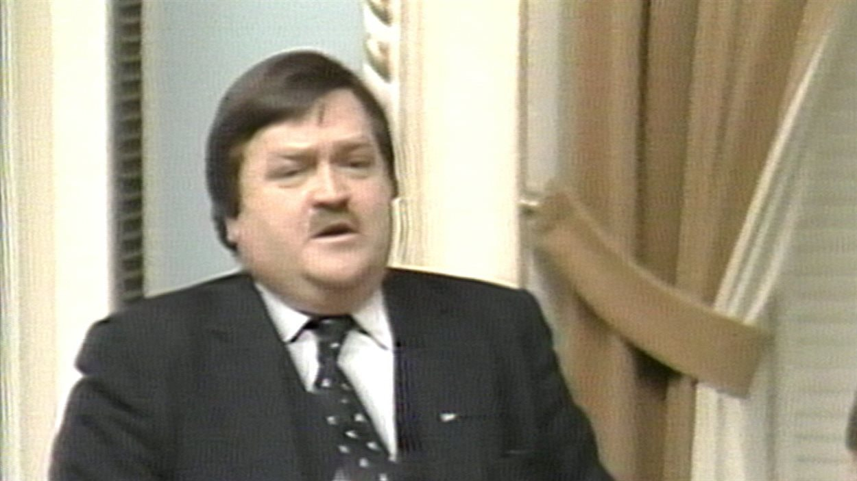 Jean Garon à l'Assemblée nationale du Qubec