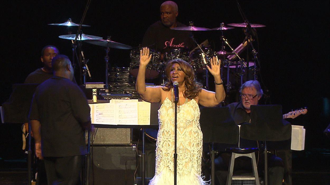 Aretha Franklin dans le cadre du Festival international de jazz de Montréal