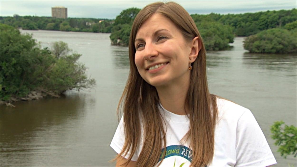 Adèle Michon, directrice des opérations au sein de Sentinelle Outaouais.