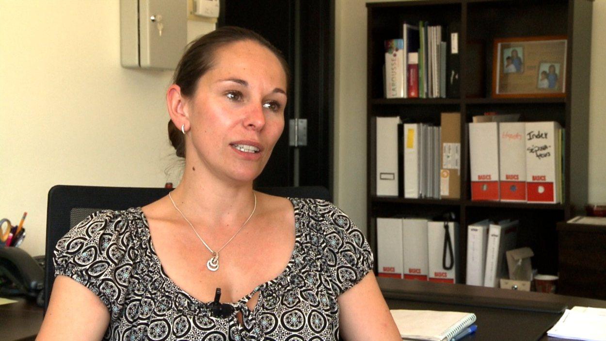 Sandrine Gaudelet, directrice générale, L'Aviron, Hébergement communautaire, Laval.