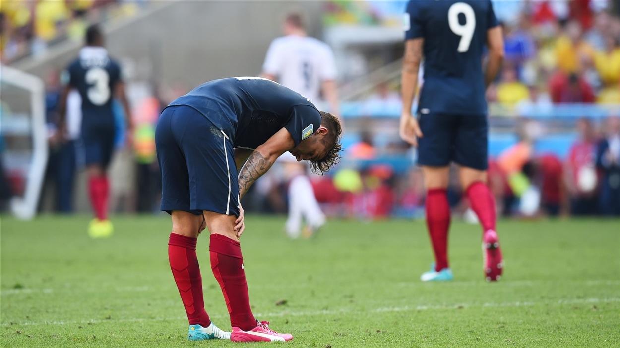 L'aventure brésilienne est terminée pour Antoine Griezmann et les autres joueurs français.