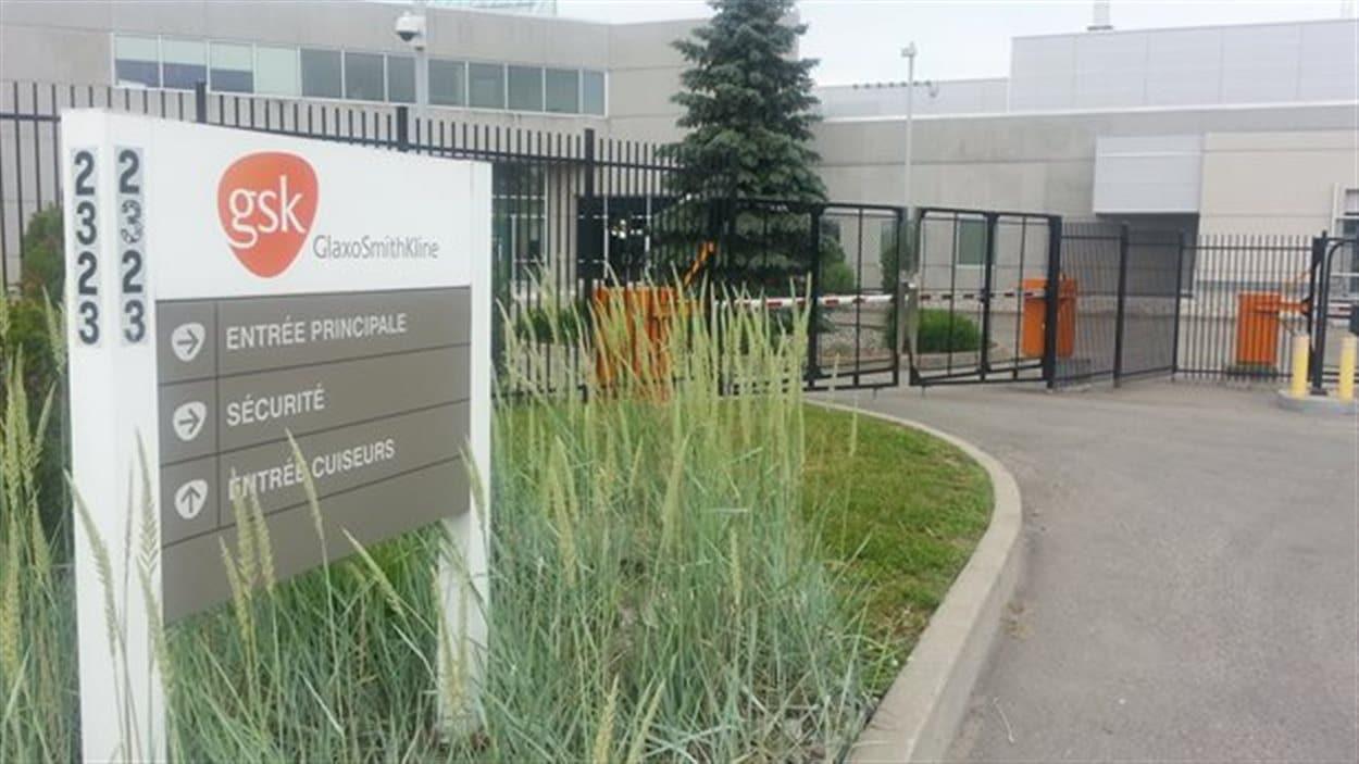 L'usine de GlaxoSmithKline a reçu une lettre d'avertissement de la part de la FDA.