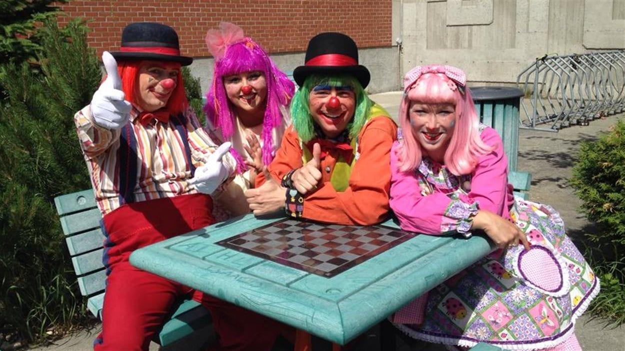 Les Clowns du Caroussel au Festival de l'humour de l'Abitibi-Témiscamingue