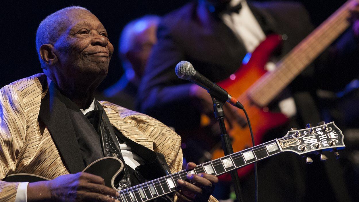 B.B. King au Festival de jazz de Montréal