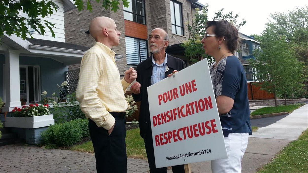 Le Comité pour une densification respectueuse souhaite une réglementation avec davantage de mordant.