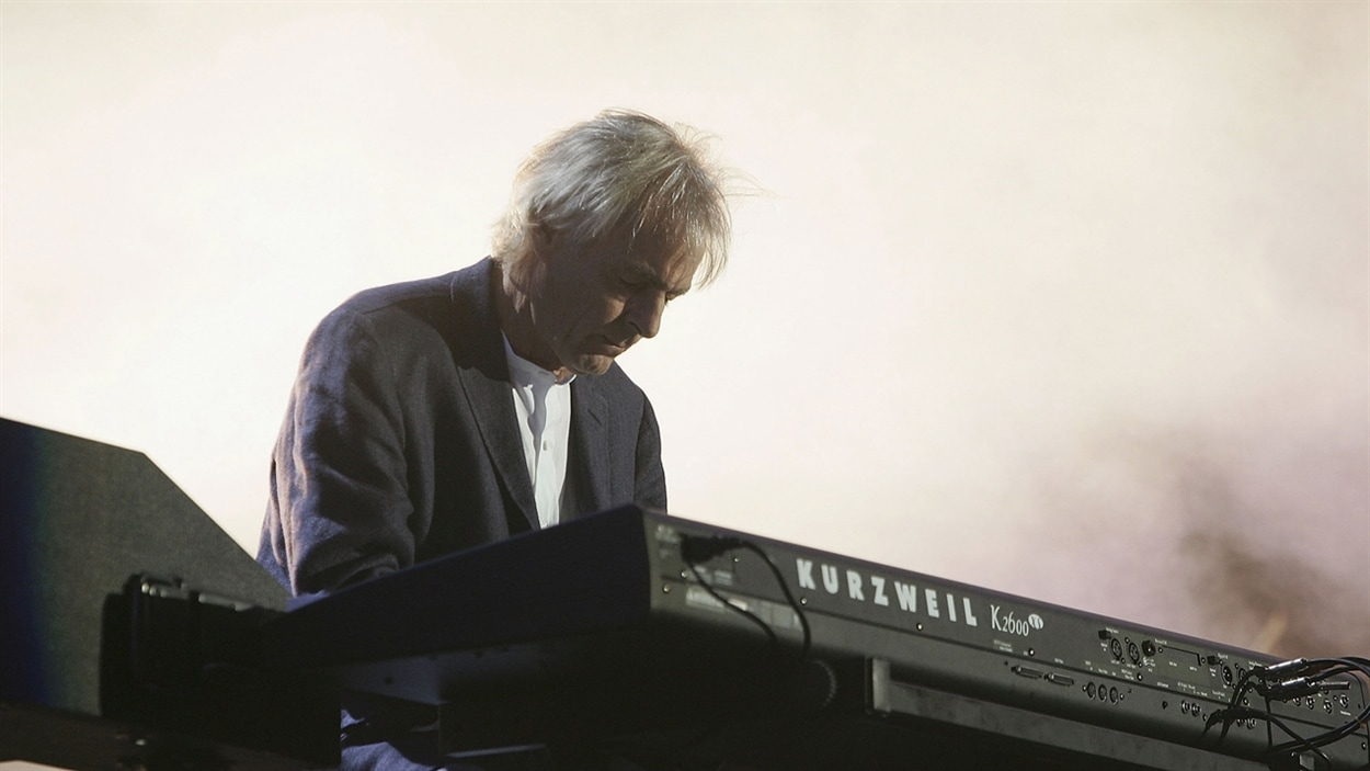 Richard Wright de Pink Floyd en 2005 à Londres.