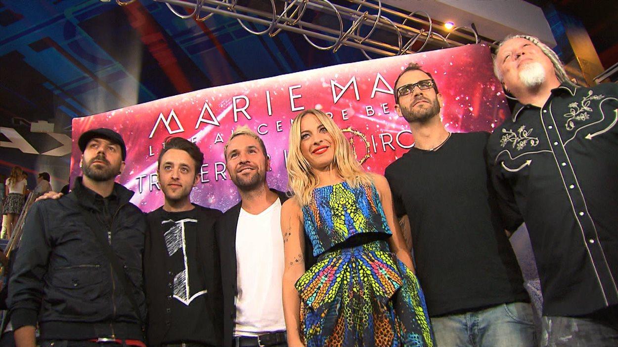 """Première du film """"Marie-Mai live au Centre Bell"""""""