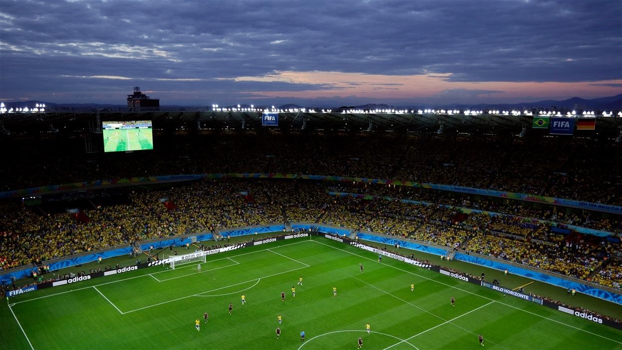 L'Estadio Mineirao pendant le match Allemagne-Brésil