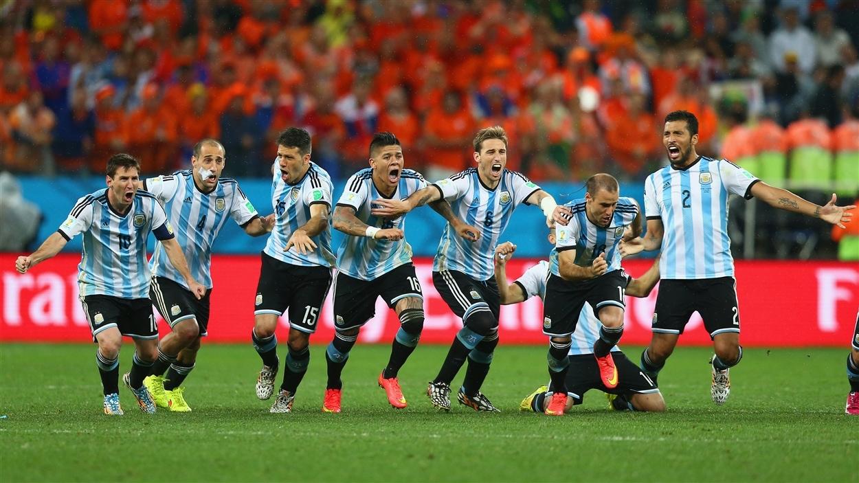 C'est fait : les Argentins accèdent à la finale de la Coupe du monde.