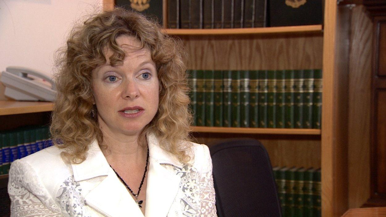 Shannon Prithipaul, présidente de l'association des avocats de la défense