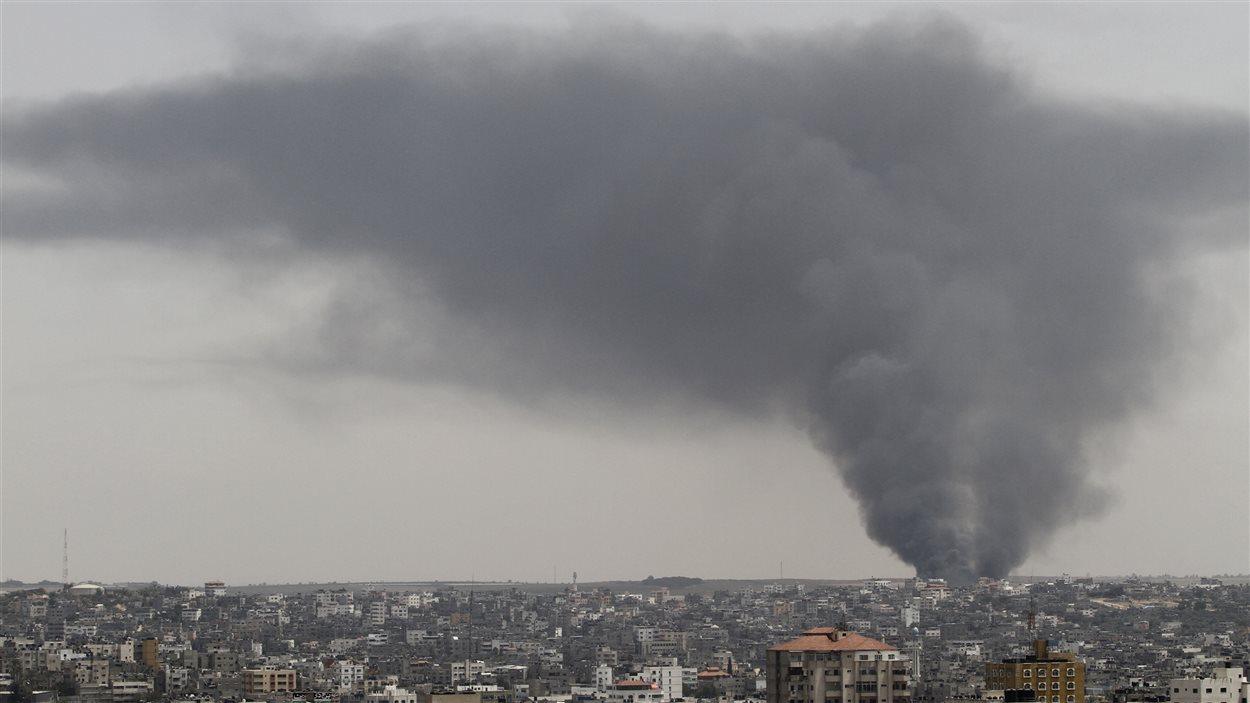 (12 juillet 2014) Raid israélien dans la bande de Gaza
