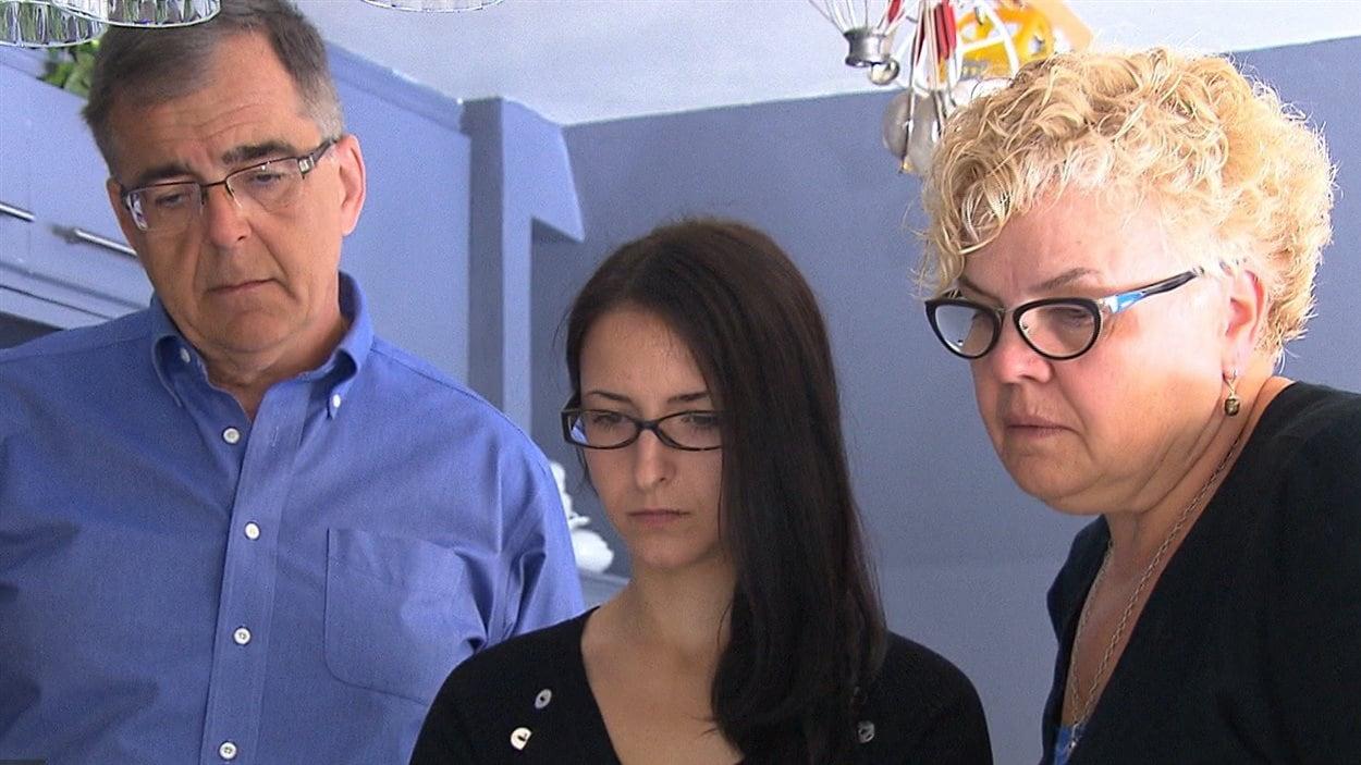 Emma Czornobaj et ses parents ont été touchés par la pétition en sa faveur qui circule sur Internet.