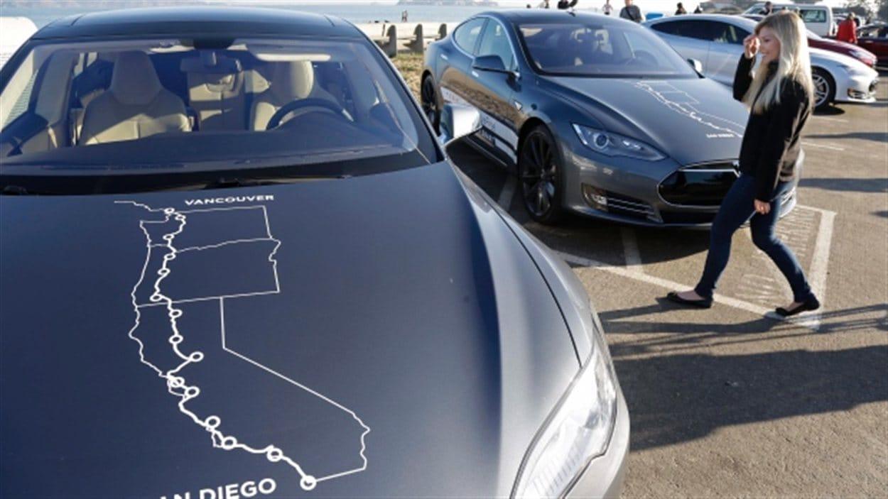 Les propriétaires de voiture électrique Tesla modèle S pourront dorénavant recharger leur auto à Squamish pour se rendre à Whislter.