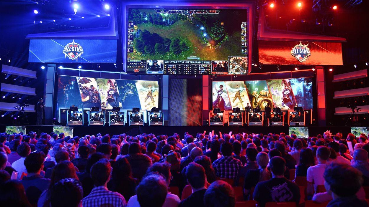 Un championnat de jeux vidéo en France