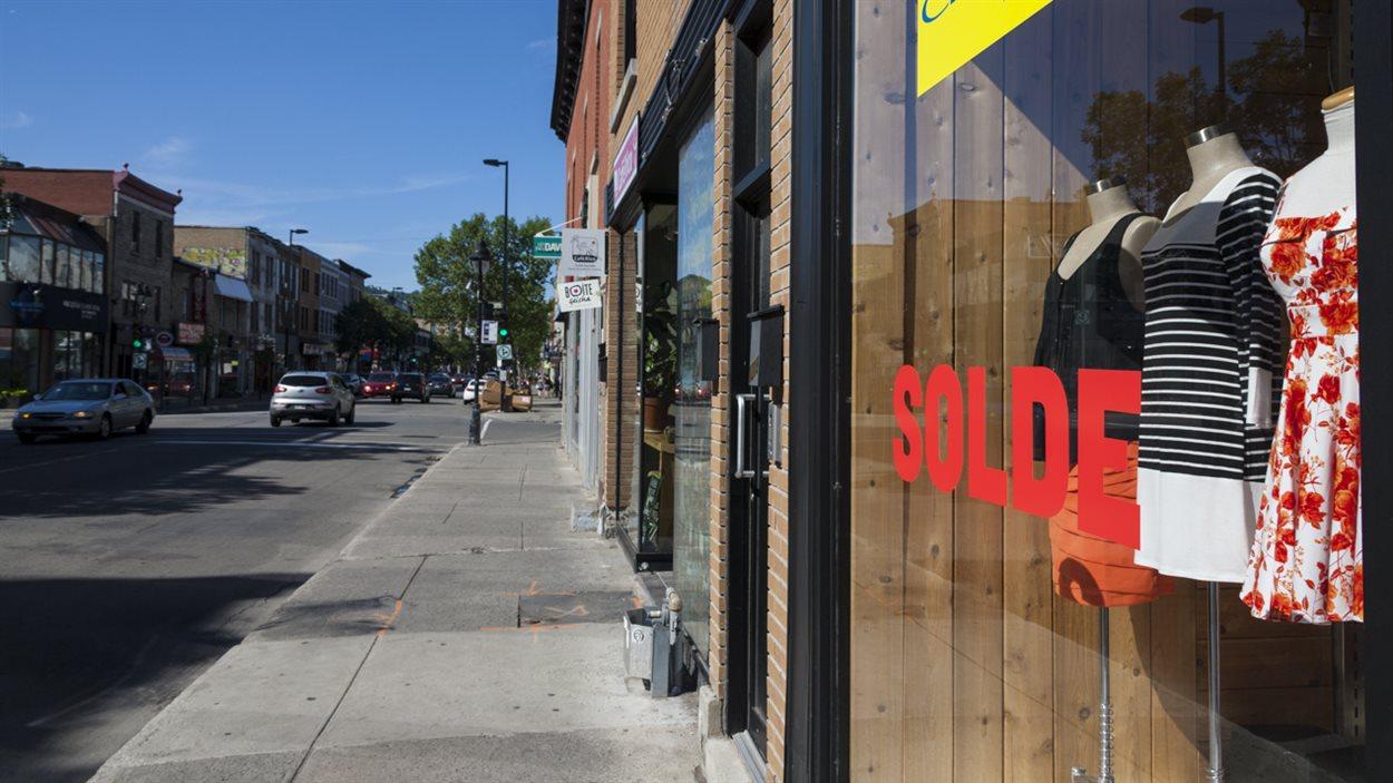 Commerces rue Mont-Royal, Montréal