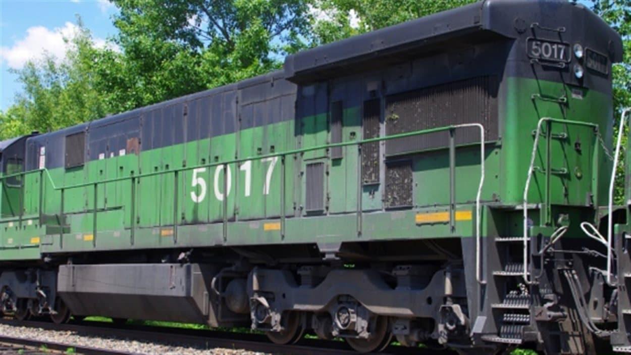 La locomotive 5017 sera vendue aux enchères.