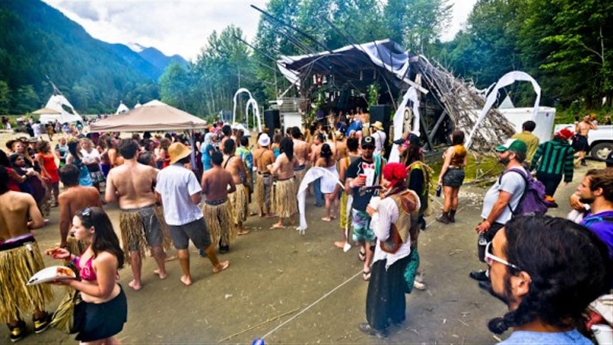 Bass Coast Festival, à Merritt en Colombie-Britannique