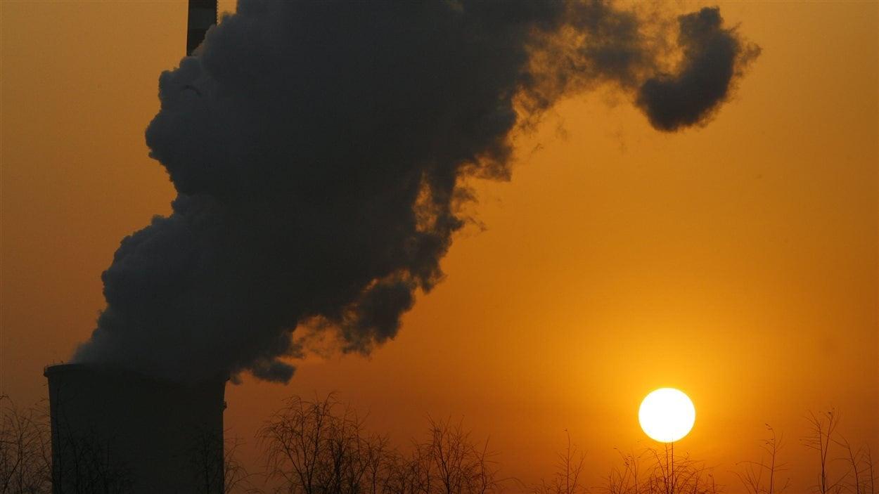 Une centrale au charbon en Chine.