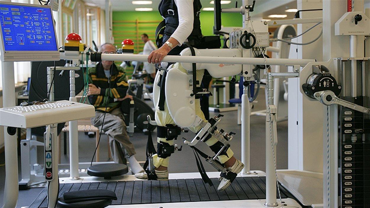 L'appareil robotisé Lokomat