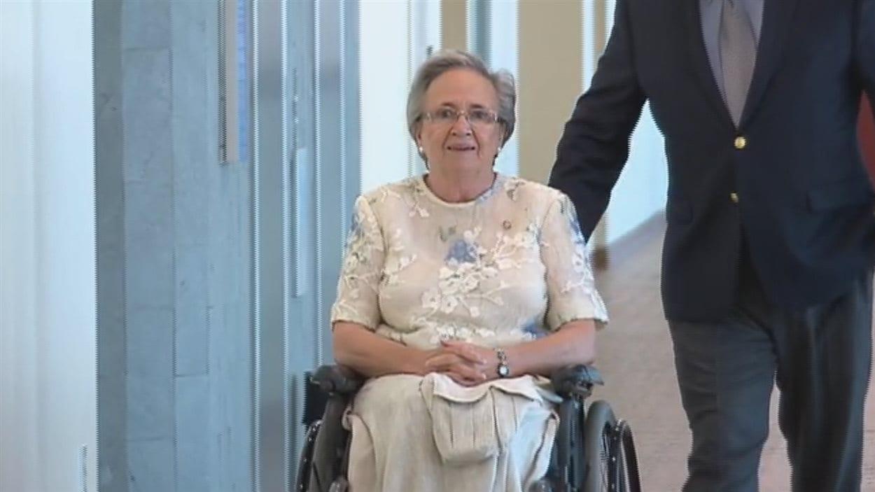 La lieutenante-gouverneure témoigne pour une troisième journée à son procès pour fraude et abus de confiance.