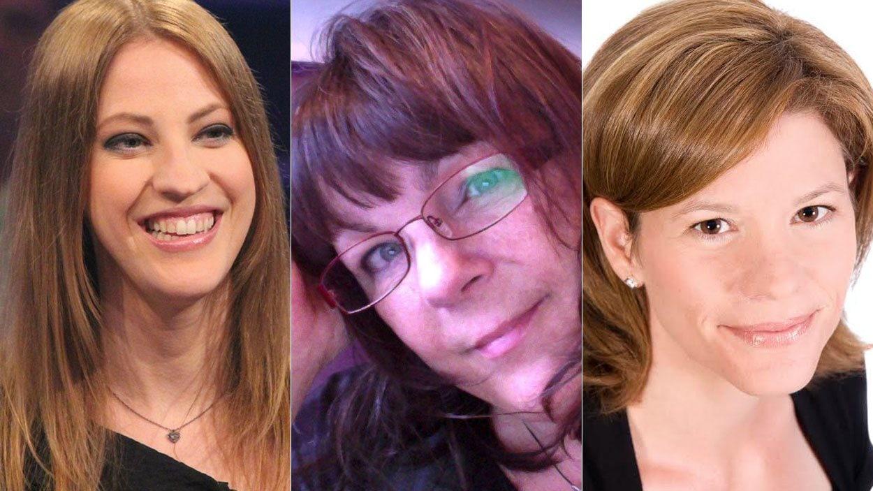 India Desjardins, Marie-Christine Bernard et Katia Canciani