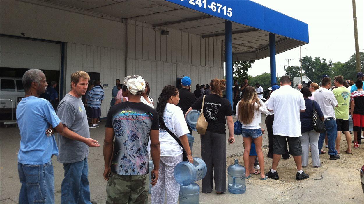 400 000 personnes ne peuvent utiliser l'eau du robinet à Toledo