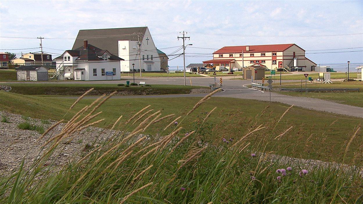 Port-Menier, sur l'île d'Anticosti