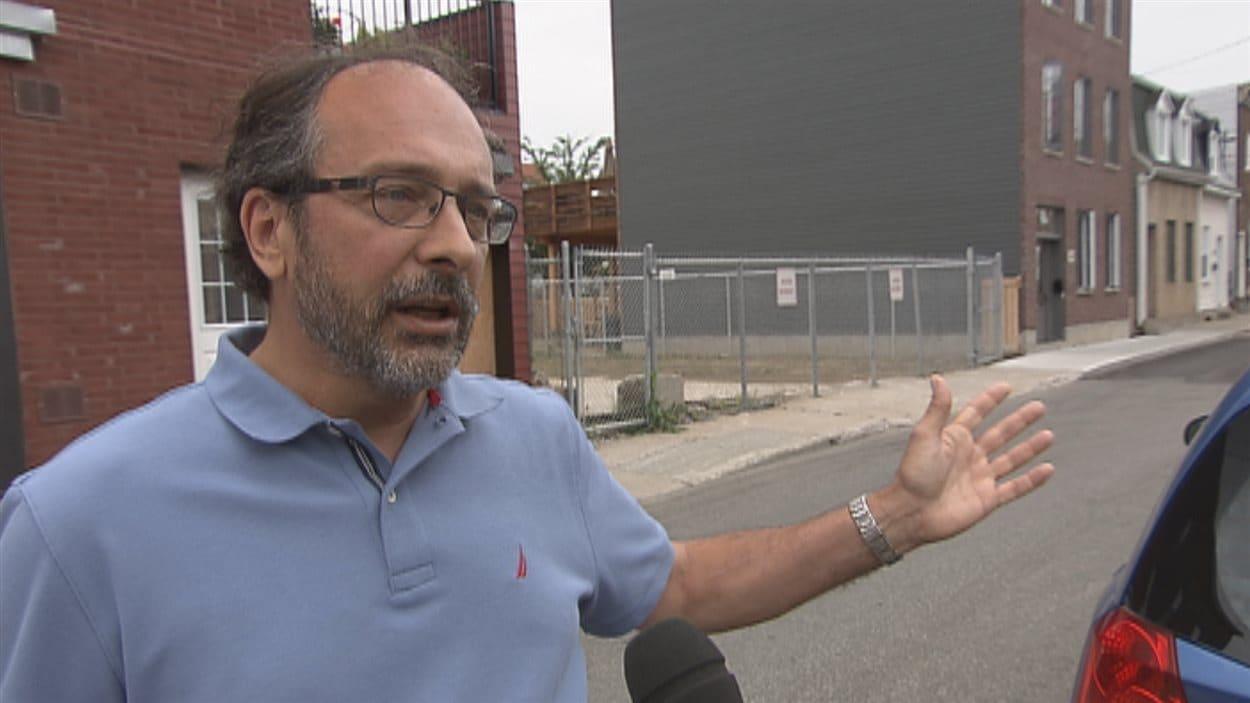 Pierre Gosselin, médecin responsable du dossier des changements climatiques à l'INSPQ.