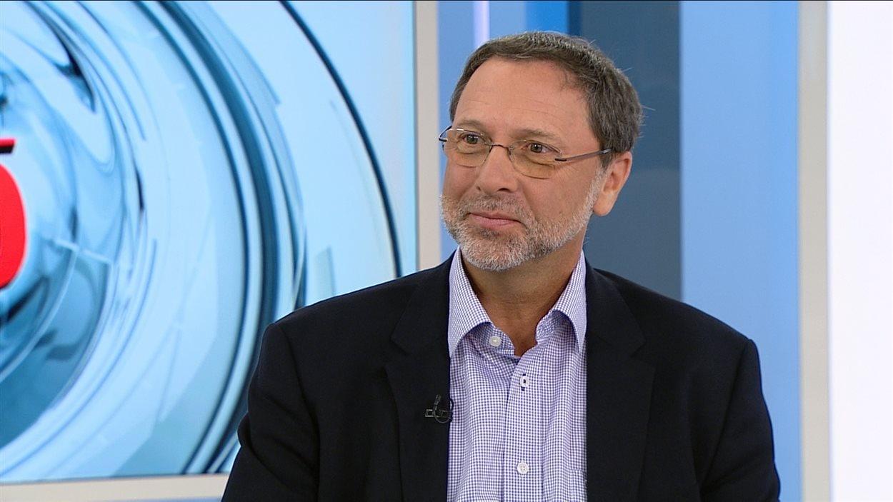Le président du Conseil du patronat du Québec, Yves-Thomas Dorval
