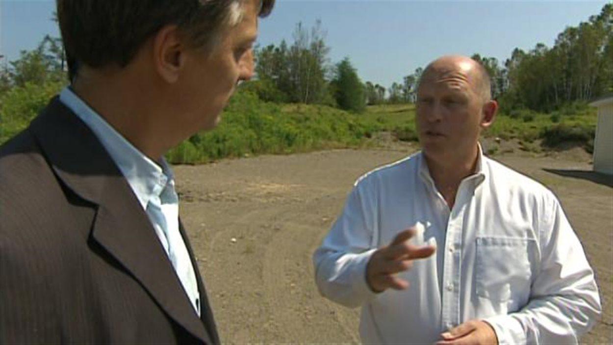 Brian Cheney est président de Ressource sage, Nouveau-Brunswick.