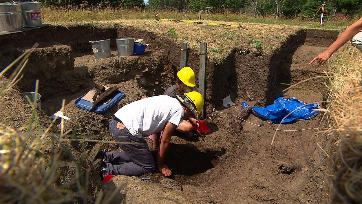 Les archéologues concluent cette semaine une sixième année de fouilles sur l'île Saint-Barnabé.