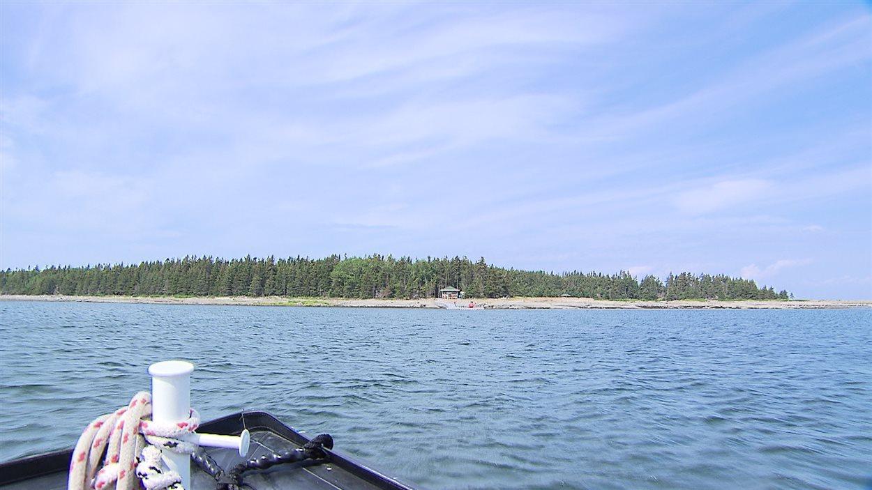 L'île Saint-Barnabé