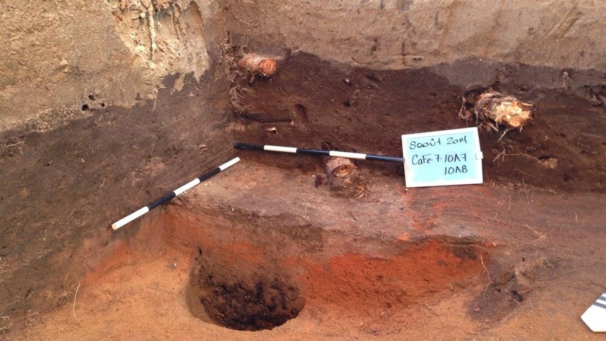 Fouilles archéologiques au Fort d'Odanak