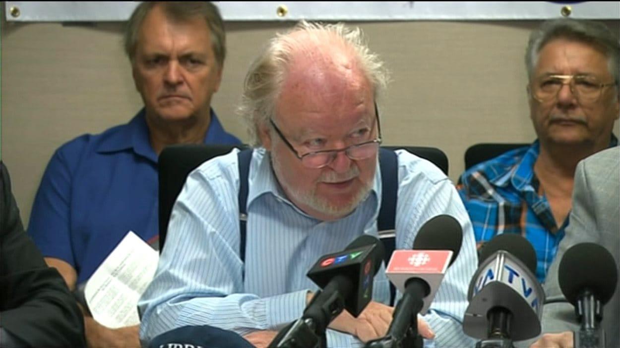 Jean Carette, président émérite du réseau Espaces 50+, le 11 août 2014.