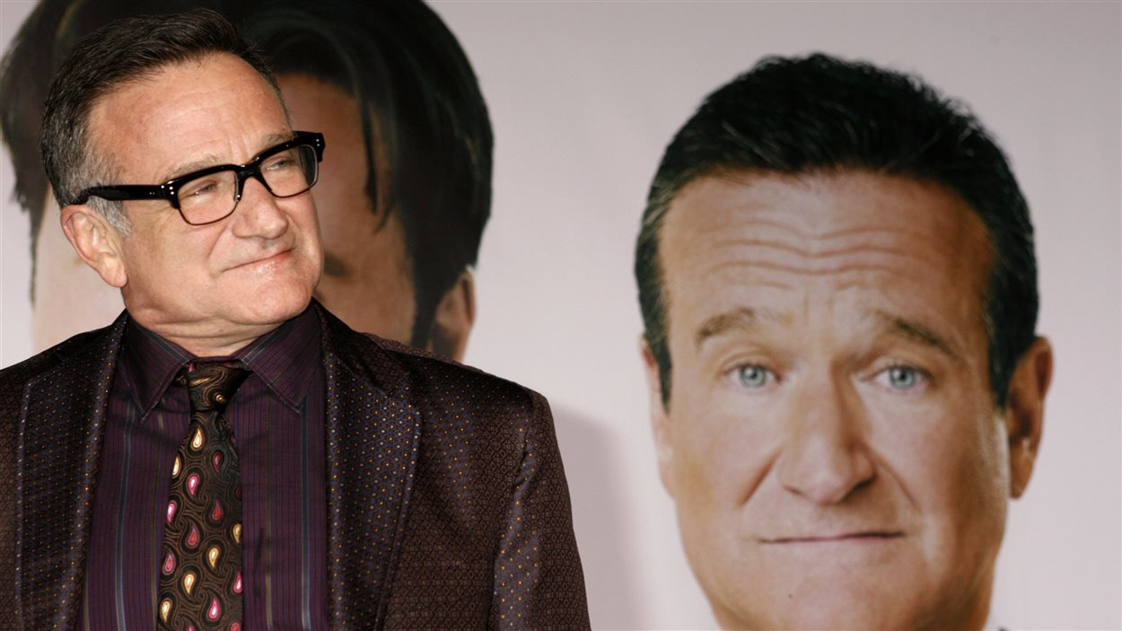 Robin Williams en 2009 lors de la sortie du film Old Dog.