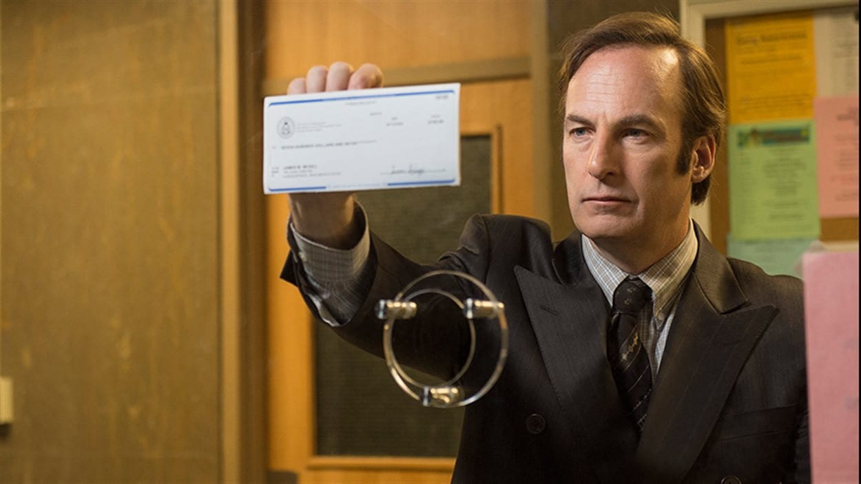 Une scène tirée de la série « Better call Saul », inspirée de « Breaking bad », avec Bob Odenkirk.