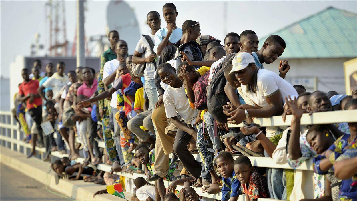 Des jeunes africains au Bénin.