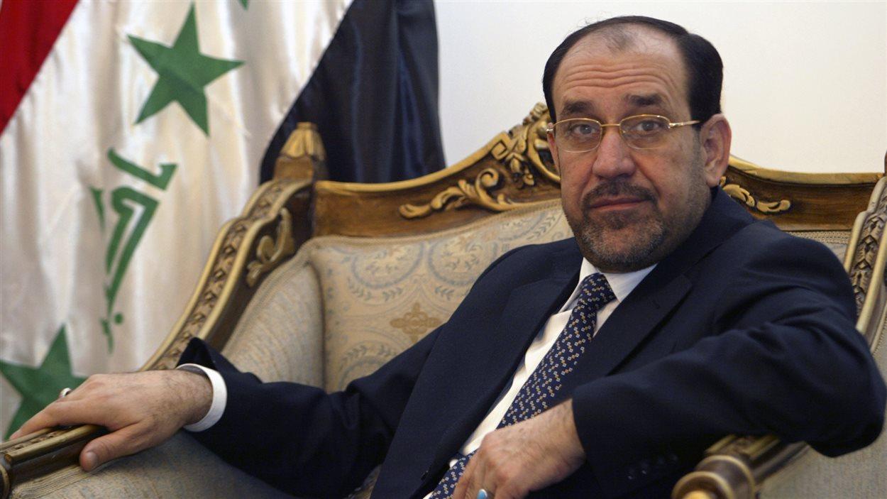 L'ancien PM irakien, Nouri Al-Maliki (2006)
