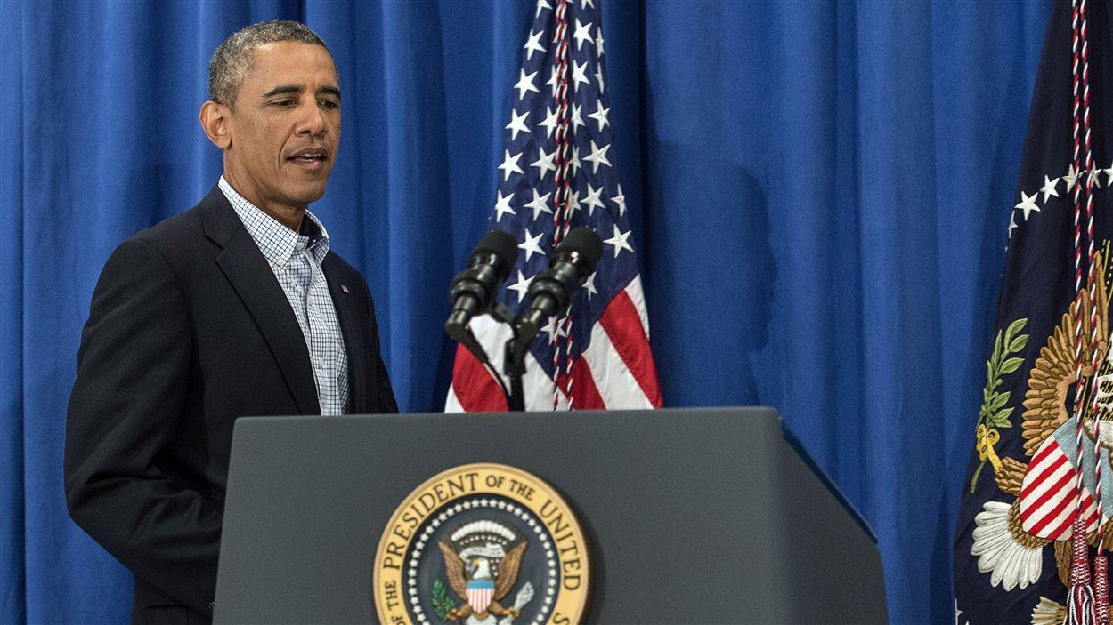 Le président Barack Obama a parlé de la situation à Ferguson depuis Martha's Vineyward.